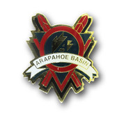 Arapahoe Basin Red Skis Magnet