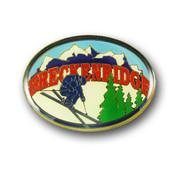 Breckenridge Oval Magnet