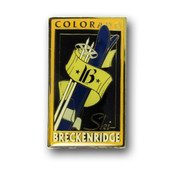 Breckenridge Poles and Skis Magnet