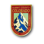 Summit County Mountain Magnet