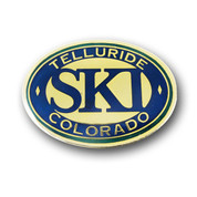 Telluride Oval Magnet