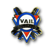 Vail Cross Skis Magnet