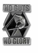 No Guts No Glory Ski Pin