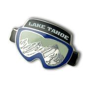 Lake Tahoe Goggles Ski Resort Pin
