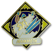 Mammoth Diamond Ski Resort Pin