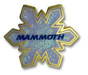 Mammoth Flake Ski Resort Pin