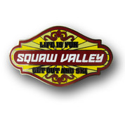 "Squaw Valley ""Life is Fun"" Ski Resort Pin"