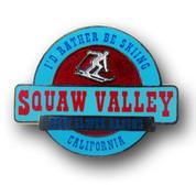Squaw Valley California Ski Resort Pin