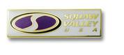 Squaw Valley Logo Ski Resort Pin
