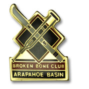 Arapahoe Basin Bone Ski Resort Pin