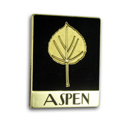 "Aspen ""Leaf"" Ski Resort Pin"