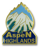 Aspen Highlands Ski Resort Pin