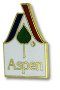 Aspen Logo Ski Resort Pin
