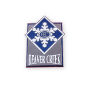 Beaver Creek Logo Ski Resort Pin