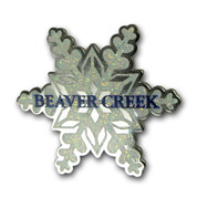Beaver Creek Snowflake Ski Resort Pin