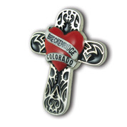 Breckenridge Cross Ski Resort Pin
