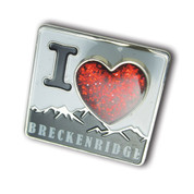Breckenridge Heart Ski Resort Pin
