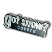 "Copper ""Got Snow"" Ski Resort Pin"