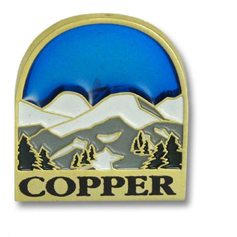 Copper Mountain Blue Sky Ski Resort Pin