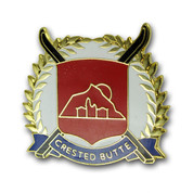 Crested Butte Cross Ski Resort Pin