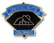 Crested Butte Diamond Ski Resort Pin