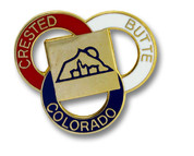 Crested Butte Three Ring Ski Resort Pin