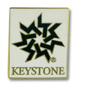 Keystone Logo Ski Resort Pin