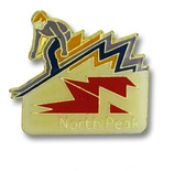 Keystone North Peak Ski Resort Pin