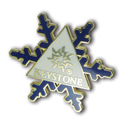 Keystone Snowflake Ski Resort Pin