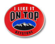 Keystone Some Like It Ski Resort Pin