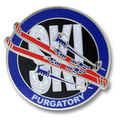 Purgatory Round Ski Resort Pin