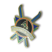 Snowmass Cross Skis Ski Resort Pin