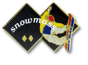 Snowmass Double Diamonds Ski Resort Pin