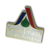 Snowmass Logo Ski Resort Pin