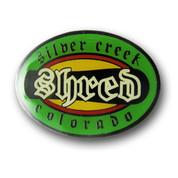 Silver Creek Shred Ski Resort Pin