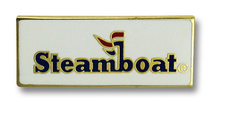 Steamboat Logo Ski Resort Pin