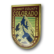 Summit County Ski Resort Pin