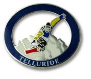 Telluride Snowboarder Ski Resort Pin