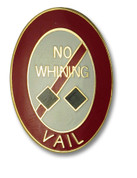 Vail Black Diamond Ski Resort Pin