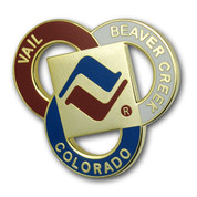Vail Three Ring Ski Resort Pin