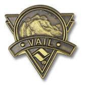 Vail Triangle Ski Resort Pin