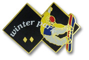 Winter Park Black Diamonds Ski Resort Pin
