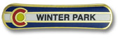 Winter Park Board Ski Resort Pin