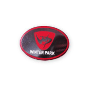 Winter Park Oval Ski Resort Pin