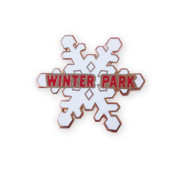 Winter Park Snow Flake Ski Resort Pin