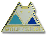 Wolf Creek Logo Ski Resort Pin