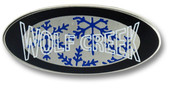 Wolf Creek Oval Ski Resort Pin