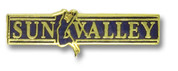 Sun Valley Skier Ski Resort Pin