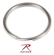 "1"" Split Ring - Nickel - 50 Pack"