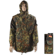 German Military Issue Original Flecktarn Camo Parka